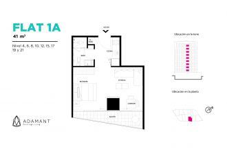 Adamant tijuana, id 1656034, no 1, plano de flat 1a, 528