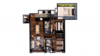 Residencial adolfo prieto 805, id 7629470, no 1, plano de garden house 101, 2314