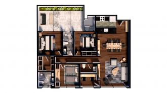 Residencial adolfo prieto 805, id 7629470, no 1, plano de garden house 102, 2316