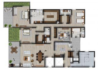 Id vertical bellavista, id 4257927, no 1, plano de garden house elite, 1205