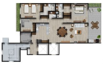 Id vertical bellavista, id 4257927, no 1, plano de garden house master, 1206