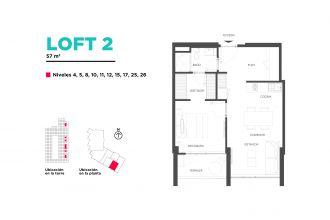 Adamant querétaro, id 1653317, no 1, plano de loft 2, 496
