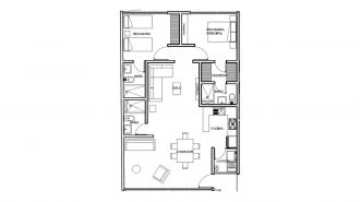 Zempoala residencial, id 9339232, no 1, plano de pent house, 3108