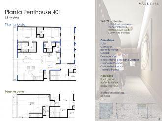 Valle 515, id 1605047, no 1, plano de penthouse 1, 457