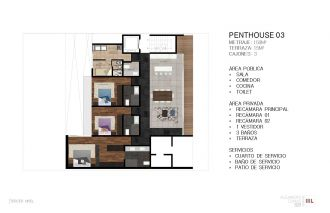 Dumas 328, id 2364171, no 1, plano de penthouse 3 , 780
