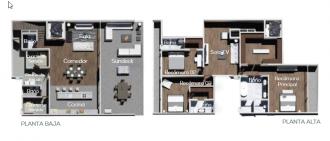 Tennyson 338, id 4267614, no 1, plano de penthouse, 1244