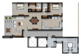 Id vertical bellavista, id 4257927, no 1, plano de piso tipo master b, 1214