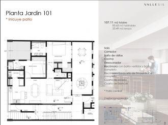 Valle 515, id 1605047, no 1, plano de planta jardín 1, 459