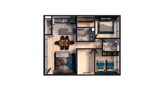 Mitla 390, id 9346365, no 1, plano de privacy house 204, 3157