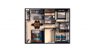 Mitla 390, id 9346365, no 1, plano de privacy house 304, 3173