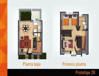 Villas terra , id 1521779, no 1, plano de prototipo 2r, 401
