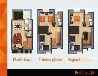 Villas terra , id 1521779, no 1, plano de prototipo 4r, 397