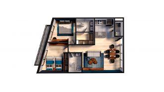 Mitla 390, id 9346365, no 1, plano de space house 205, 3161