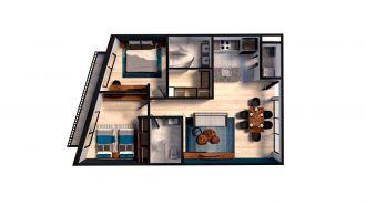 Mitla 390, id 9346365, no 1, plano de space house 305, 3177