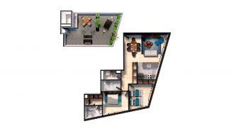 Mitla 390, id 9346365, no 1, plano de sunshine house 102, 3137