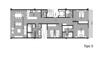 Arquímedes 138, id 6774614, no 1, plano de tipo 3, 2026
