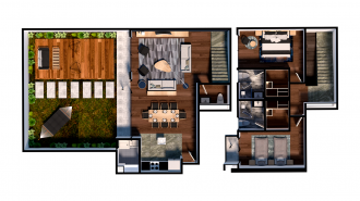 Residencial adolfo prieto 805, id 7629470, no 1, plano de town house 103, 2318