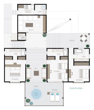 Manai, id 1519068, no 1, plano de villa 8, 288