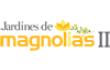 Id 14981471, logo de jardines de magnolias iii